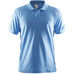 Craft Classic Polo Pique T-shirt Homme, aqua
